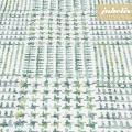 Beschichtete Baumwolle strukturiert Eske grün-creme III