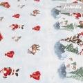 Wachstuch Christmas Wonderland II