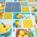 Wachstuch Lemon P