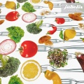 Wachstuch Gemüse Vegetables II