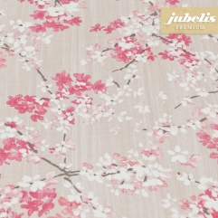 Beschichtete Baumwolle strukturiert Akira rosa III