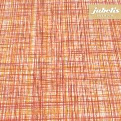 Beschichtete Baumwolle strukturiert Justus orange III 120 cm x 140 cm