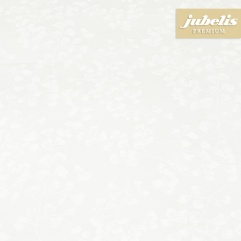 Beschichtete Baumwolle abwaschbar Ginkgo weiß III 150 cm x 140 cm