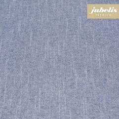 Beschichtete Baumwolle strukturiert Boheme blau III