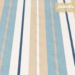 Beschichtete Baumwolle strukturiert Juliana blau III