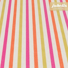 Beschichtete Baumwolle strukturiert Klara orange-pink III 260 cm x 140 cm
