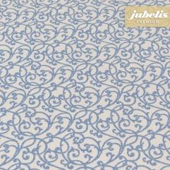 Beschichtete Baumwolle strukturiert Isabell blau III 160 cm x 140 cm Bauerntisch