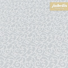 Beschichtete Baumwolle abwaschbar Isabell grau III 110 cm x 140 cm Küchentisch
