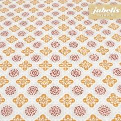 Beschichtete Baumwolle strukturiert Janna natur III