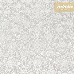 Beschichtete Baumwolle abwaschbar Serena pastelgrau III
