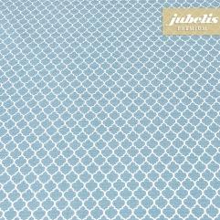 Beschichtete Baumwolle abwaschbar Rachele pastellblau III