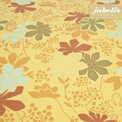 Beschichtete Baumwolle abwaschbar Elena gelb H
