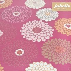 Beschichtete Baumwolle abwaschbar Eve pink H