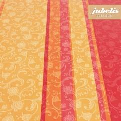 Beschichtete Baumwolle abwaschbar Lisanne orange H 200 cm x 140 cm