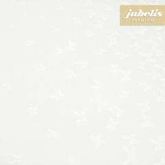 Beschichtete Baumwolle abwaschbar Papillon weiß III