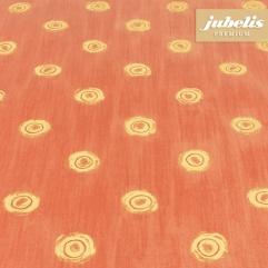 Beschichtete Baumwolle abwaschbar Punto rot H