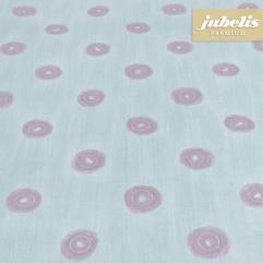 Beschichtete Baumwolle abwaschbar Punto wasserblau H