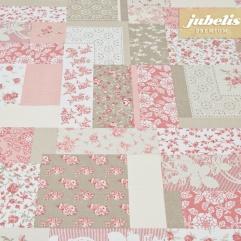 Beschichtete Baumwolle strukturiert Spina rosa III 230 cm x 140 cm