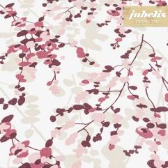 Beschichtete Baumwolle strukturiert Yuna violett III 100 cm x 140 cm