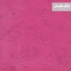 Wachstuch Palmas pink H 2000 cm x 140 cm komplette Rolle-Sonderpreis