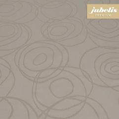 Textiler Luxus-Tischbelag Lana cremebraun III 400 cm x 140 cm