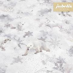 Textiler Luxus-Tischbelag Animals of Winter III