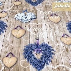 Textiler Luxus-Tischbelag Cuori III
