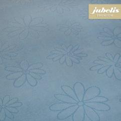 Textiler Luxus-Tischbelag Messina pastellblau III