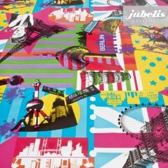 Wachstuch Sunnyvale multicolor H