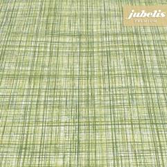 Beschichtete Baumwolle strukturiert Justus grün III 100 cm x 140 cm