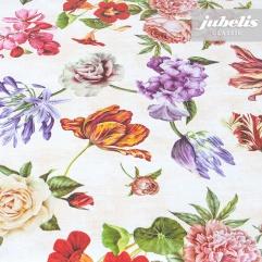 Wachstuch Blumen-Mix I