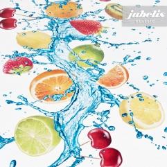 Wachstuch Splash II 110 cm x 140 cm Küchentisch