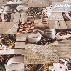 Wachstuch Coffeetime I 200 cm x 140 cm