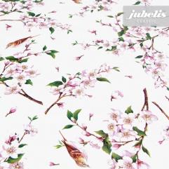 Wachstuch Kirschblüte I 100 cm x 140 cm