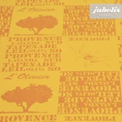 Wachstuch Provence orange H