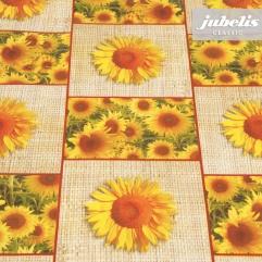 Wachstuch Sonnenblumen P