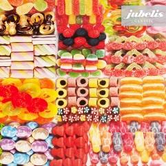 Wachstuch Süßigkeiten II