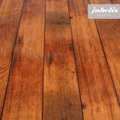 Wachstuch Holz dunkelbraun P 110 cm x 140 cm Küchentisch