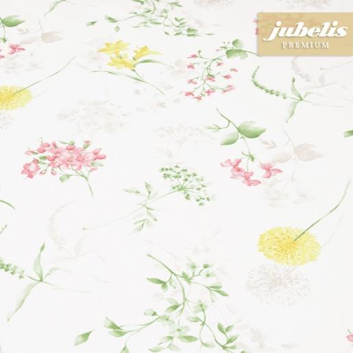 Beschichtete Baumwolle strukturiert Wildblumen III