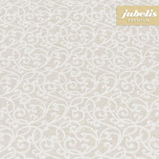 Beschichtete Baumwolle strukturiert Isabell natur III