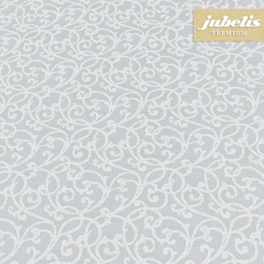 Beschichtete Baumwolle abwaschbar Isabell grau III 2000 cm x 140 cm komplette Rolle-Sonderpreis