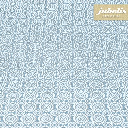 Beschichtete Baumwolle abwaschbar Angelica pastellblau III 100 cm x 140 cm