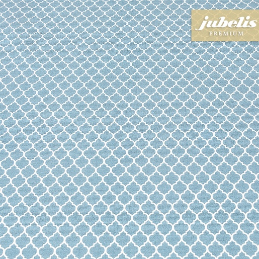 Beschichtete Baumwolle abwaschbar Rachele pastellblau III 190 cm x 140 cm