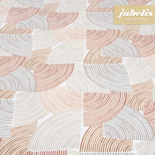 Beschichtete Baumwolle abwaschbar Bettina terra-beige III