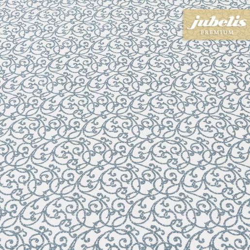 Beschichtete Baumwolle abwaschbar Isabell taubenblau III 100 cm x 140 cm