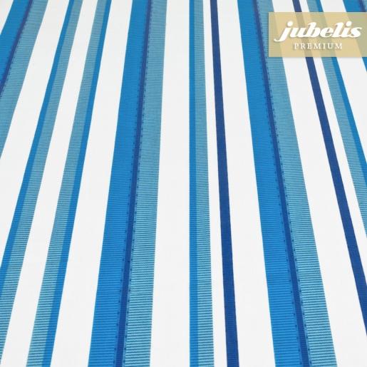 Beschichtete Baumwolle abwaschbar Marina azurblau H