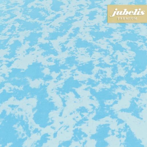 Beschichtete Baumwolle abwaschbar Pit türkisblau H 100 cm x 140 cm