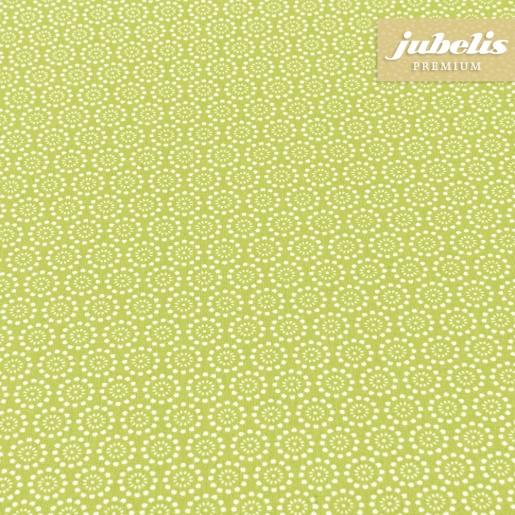 Beschichtete Baumwolle abwaschbar Pita hellgrün III 240 cm x 140 cm für Biertische (auf Wunsch geteilt = 2 Decken)