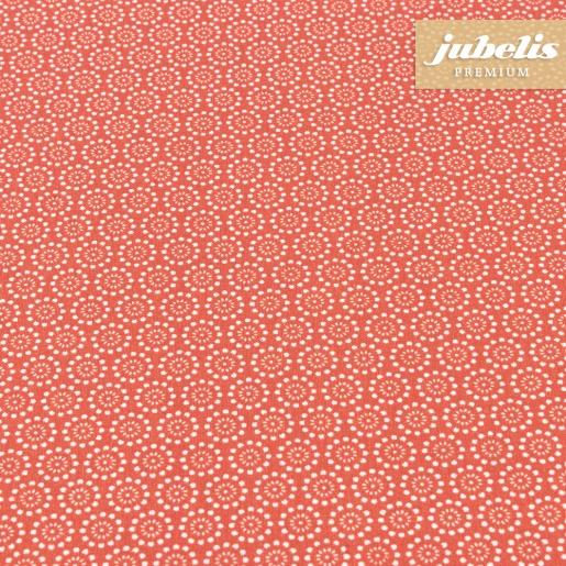 Beschichtete Baumwolle abwaschbar Pita rot III 100 cm x 140 cm