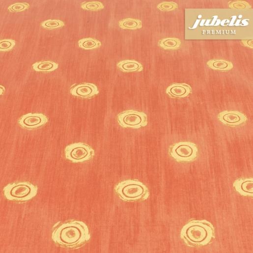 jubelis beschichtete baumwolle abwaschbar punto rot h. Black Bedroom Furniture Sets. Home Design Ideas